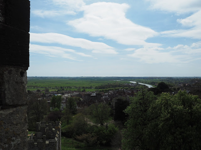 view from arundel castle
