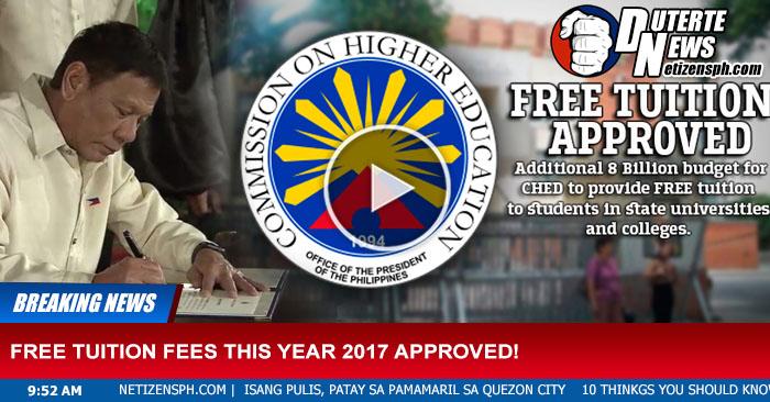 Libre na ang Pag-aaral sa Unibersidad at Kolehiyo 2017 - See Complete List Click Here