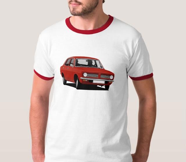 70's Vintage Morris Marina car t-shirt