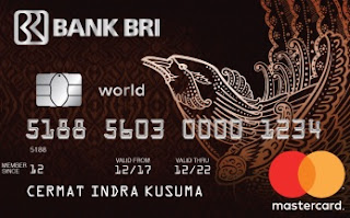 Kartu Kredit BRI world access