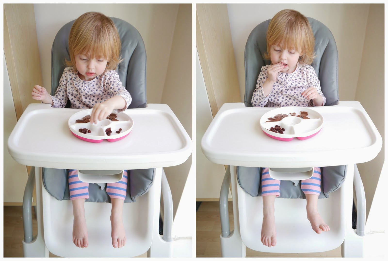 The Tray Is Nice And Wide Can Be Moved Closer To Your Child Or Further Away Depending On Their Size You Adjust Height Of Chair Which