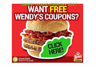 free Wendys coupons february 2017