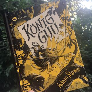 Kinderbuch König Guu von Adam Stower, Aladin Verlag, Thema Mobbing, Lesemuffel