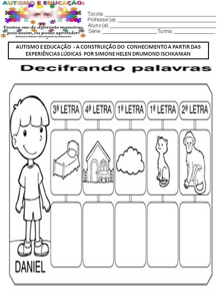 Preferência ATIVIDADES - AUTISMO E EDUCAÇÃO A CONSTRUIÇÃO DO CONHECIMENTO A  RF28