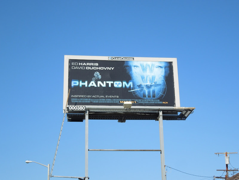 Phantom movie billboard