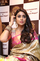 Actress Shriya Saran Stills in Saree at VRK Silks Launches at Himayat Nagar  0003.JPG