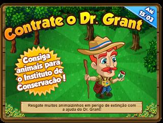 Missão: Contrate o Dr. Grant