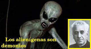 Resultado de imagen de aliens son demonios