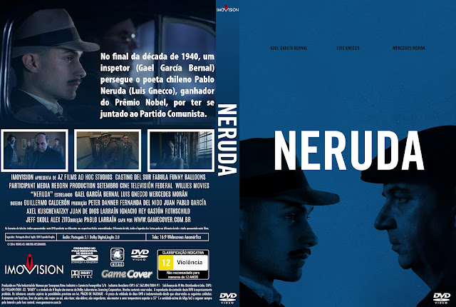 Capa DVD Neruda [Exclusiva]