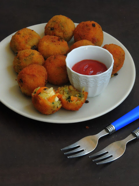 Cheesy Vegetable Balls