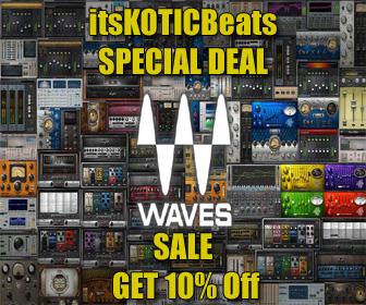WAVES PlugIns Discount Promotional Deal Software image flyer