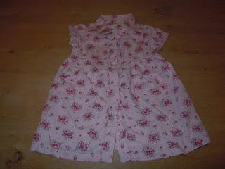 37a299e6f4ff Mkegi - Børnetøj  H M rosa kjole str.74