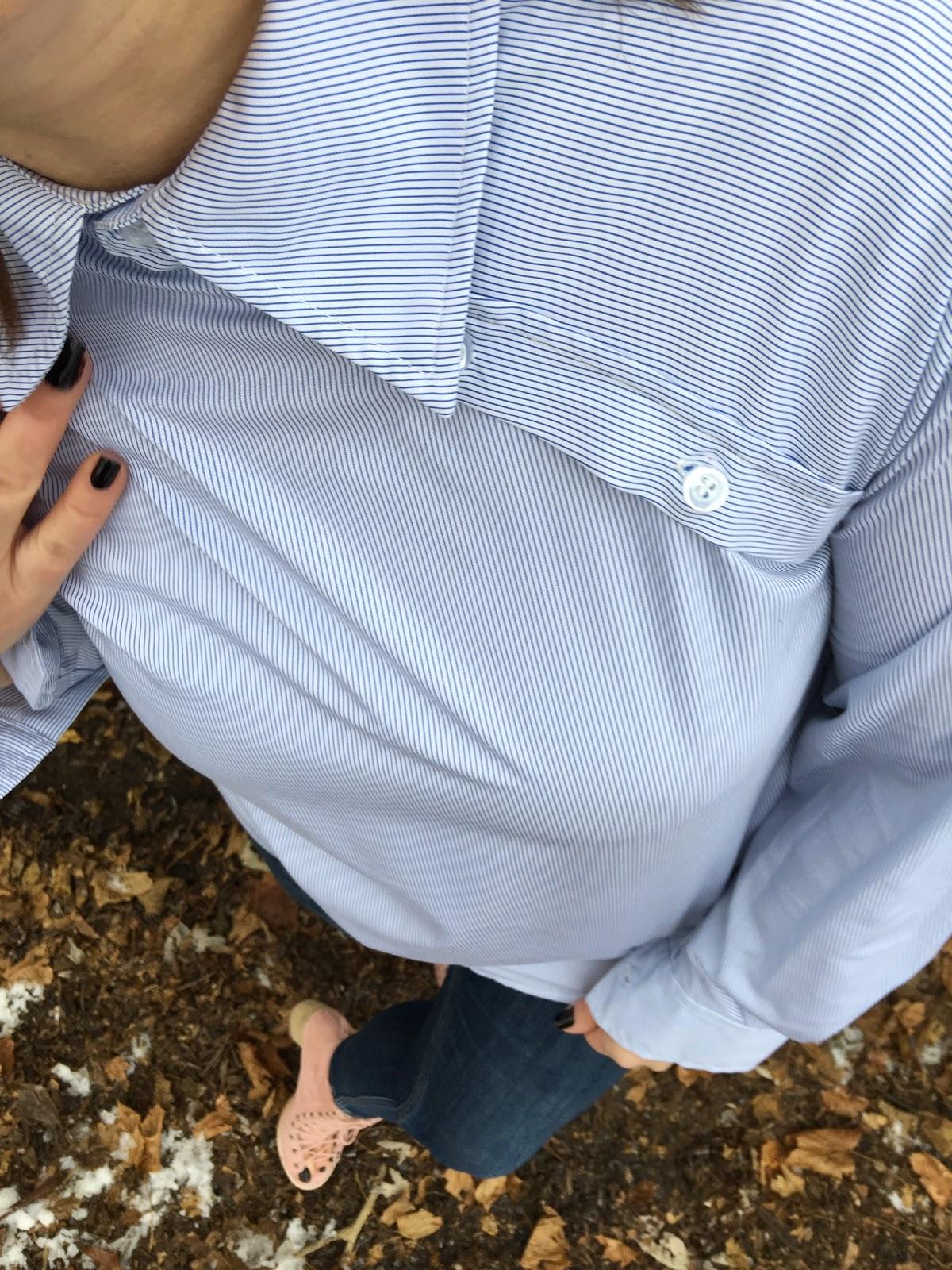 Unique button down shirt