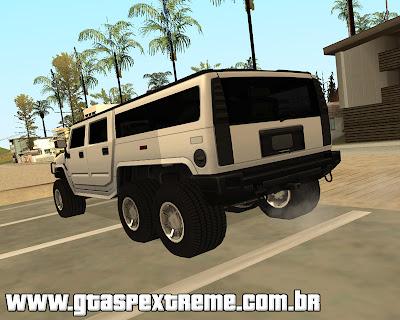 Hummer H6 para grand theft auto