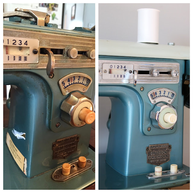 From Palindrome Dry Goods: How to Restore a Vintage Sewing Machine