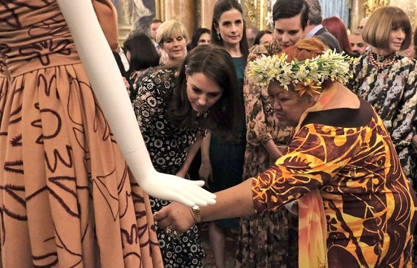 Duchess Catherine and Countess Sophie attend a fashion ...