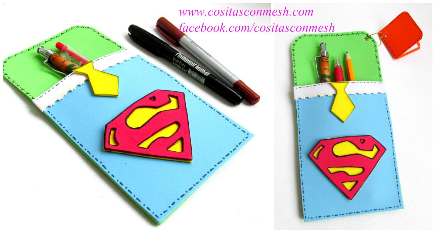 Funditas de superman para regalar en el d a del padre - Que regalar a un padre ...