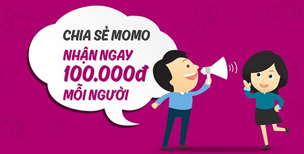 Cách kiếm 100k cực kỳ đơn giản với ví điện tử MOMO
