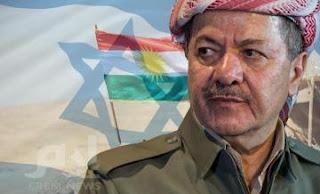 مصادر تركية : مسعود بارزاني منح وجود صهيوني اسرائيلي  أكبر في شمال العراق