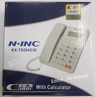 N.INC 8204 ptcl set