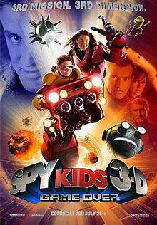 Spy Kids 3-D: Game Over movieloversreviews.filminspector.com poster