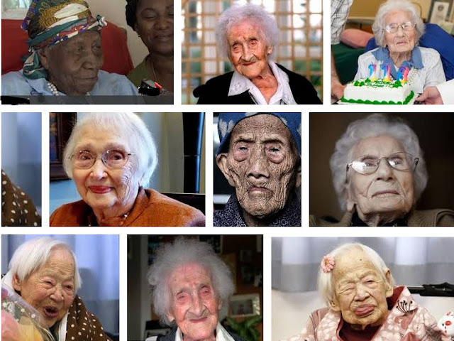 2017 List of verified oldest women in the world