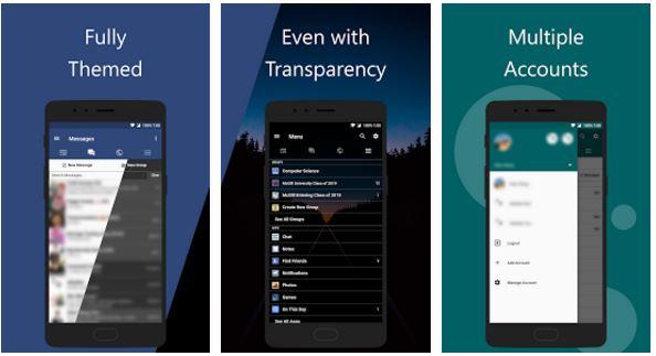 facebook app frost apk download