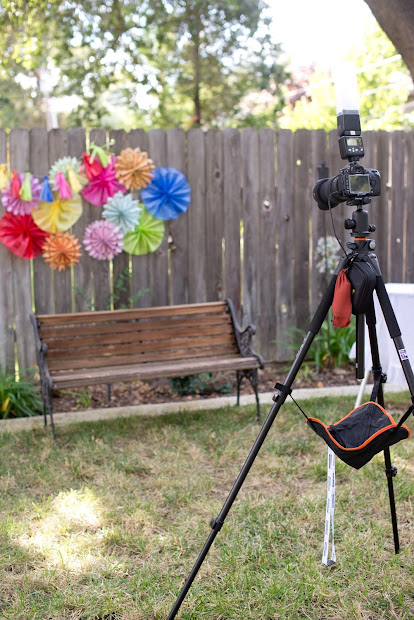 Diy Birthday Photo Booth Backdrop - Year of Clean Water