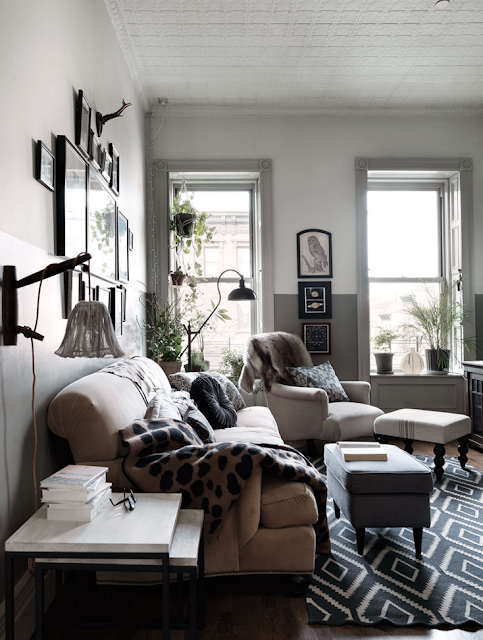 Decor Inspiration : Nina Persson magically beautiful home in Harlem, New York {Cool Chic Style Fashion}