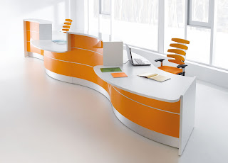 Orange-Modern-Office-Furniture-