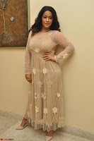 Mumaith Khan in Beig Skin Colored Anarkali Dress at Kalamandir Foundation 7th anniversary Celebrations ~  Actress Galleries 015.JPG