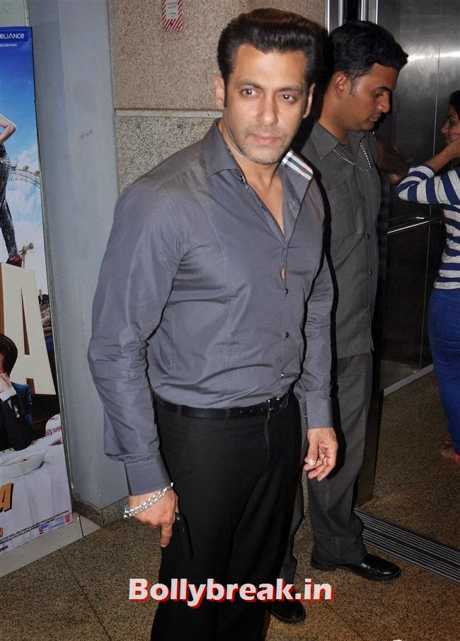 Salman Khan, Bollywood Celebs at Jai Ho Special Screening