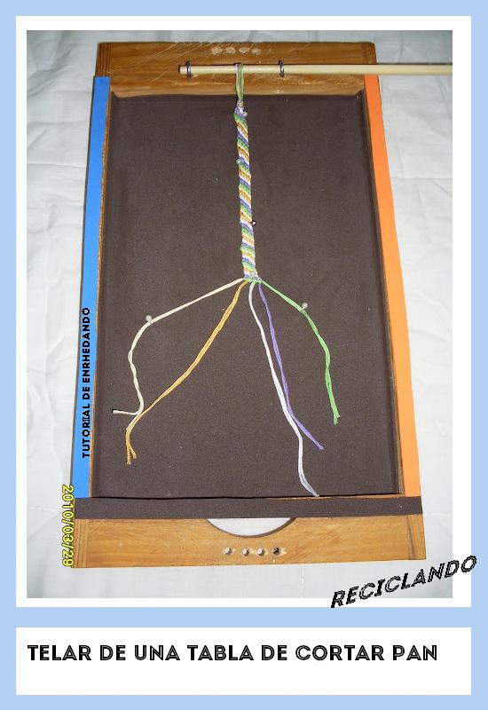 Enrhedando manualidades for Como hacer una tabla para picar de madera