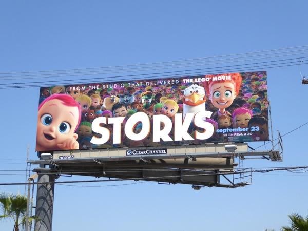Storks film billboard