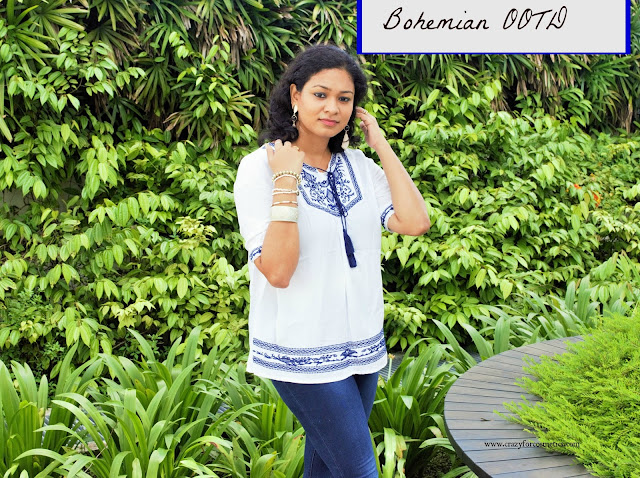 how to style Bohemian outfit