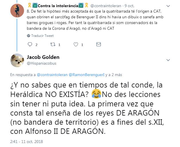 Contra la intolerància VS Golden Jacob 2
