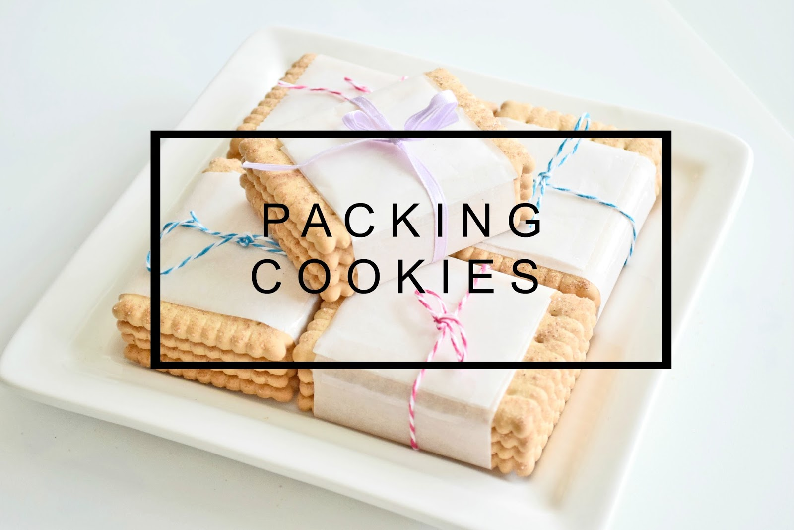 packing cookies diy