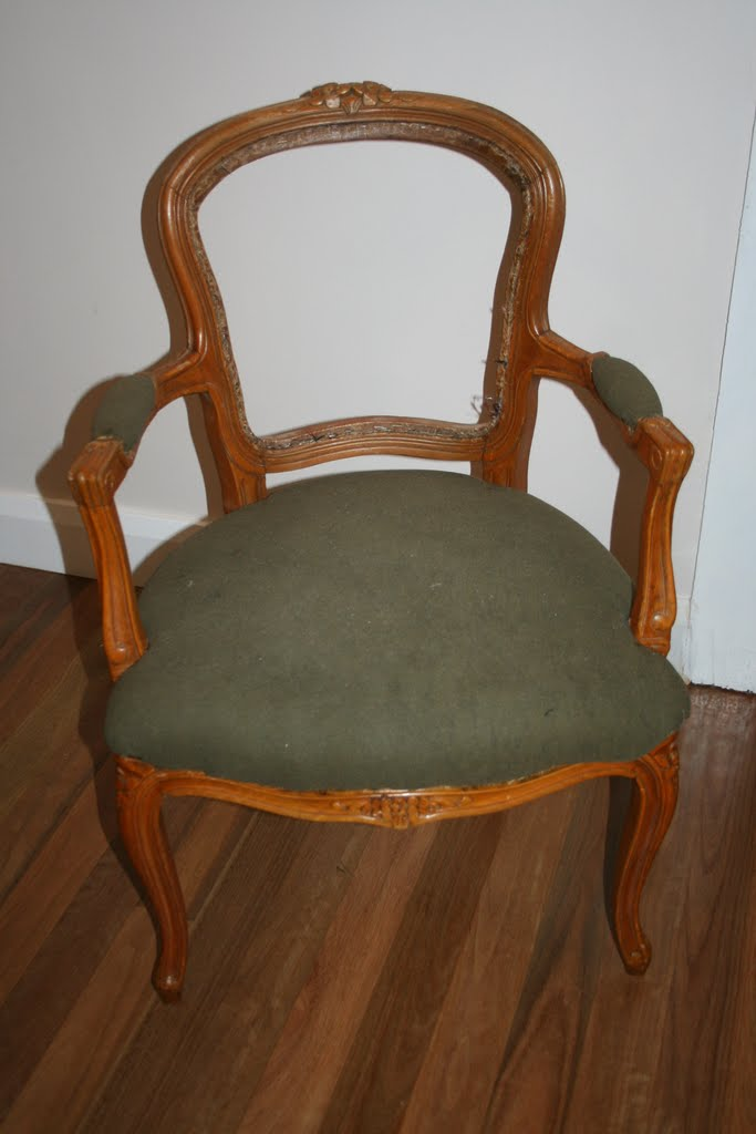 French Louis Chair Office Chairs For Big Guys Lilyfield Life Easy Upholstering Of A Upholstery How To Diy