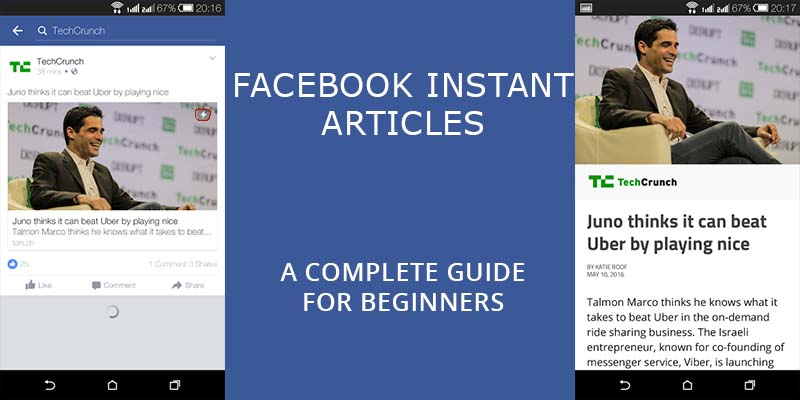 Complete guide to instant article