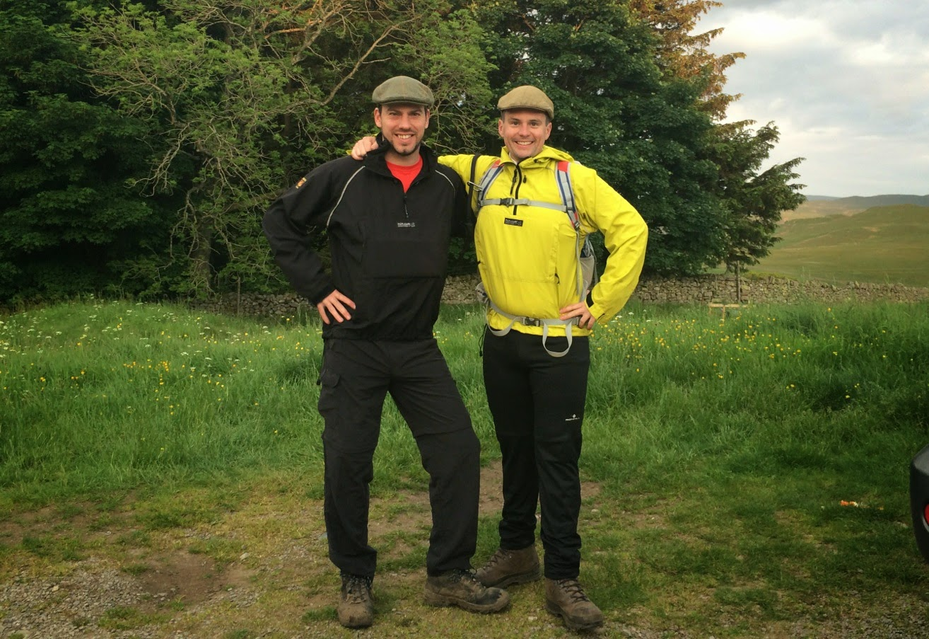 The start of our 24 Peaks adventure!