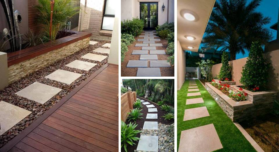 20 Inexpensive Easy Gravel Paths Walkway And Stepping Stones