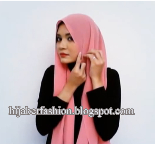 Cara Memakai Jilbab Cantik Tutorial Hijab