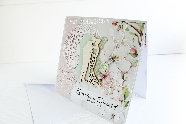 Pastelowa karteczka dla Żanety i Dawida