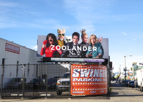 Zoolander 2 special extension billboard