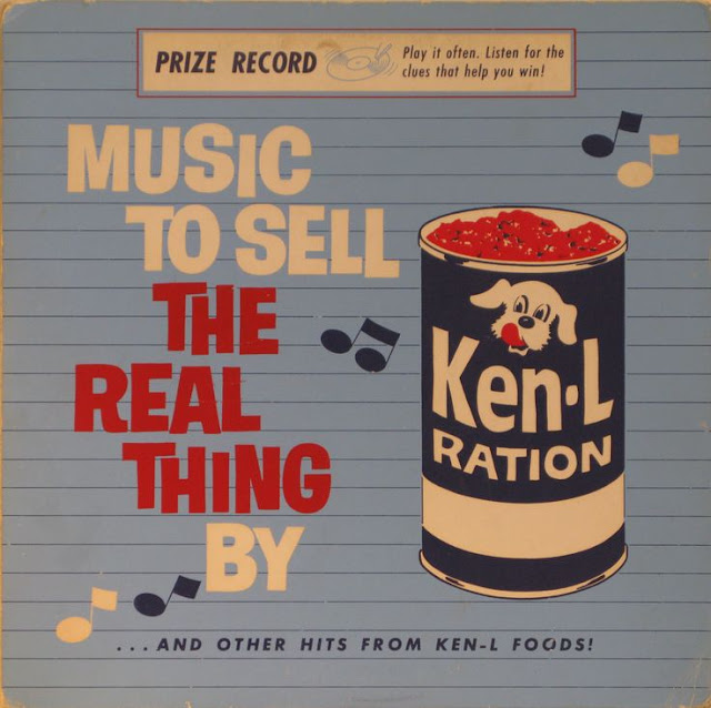 Corporate Musical for Ken-L dog food. Music to sell the real thing by. Musicals on an Industrial Scale and other stories of the American Dream. marchmatron.com