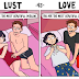 Do You Know The Difference Between Lust And Love? These 4 Endearing Comics Can Help