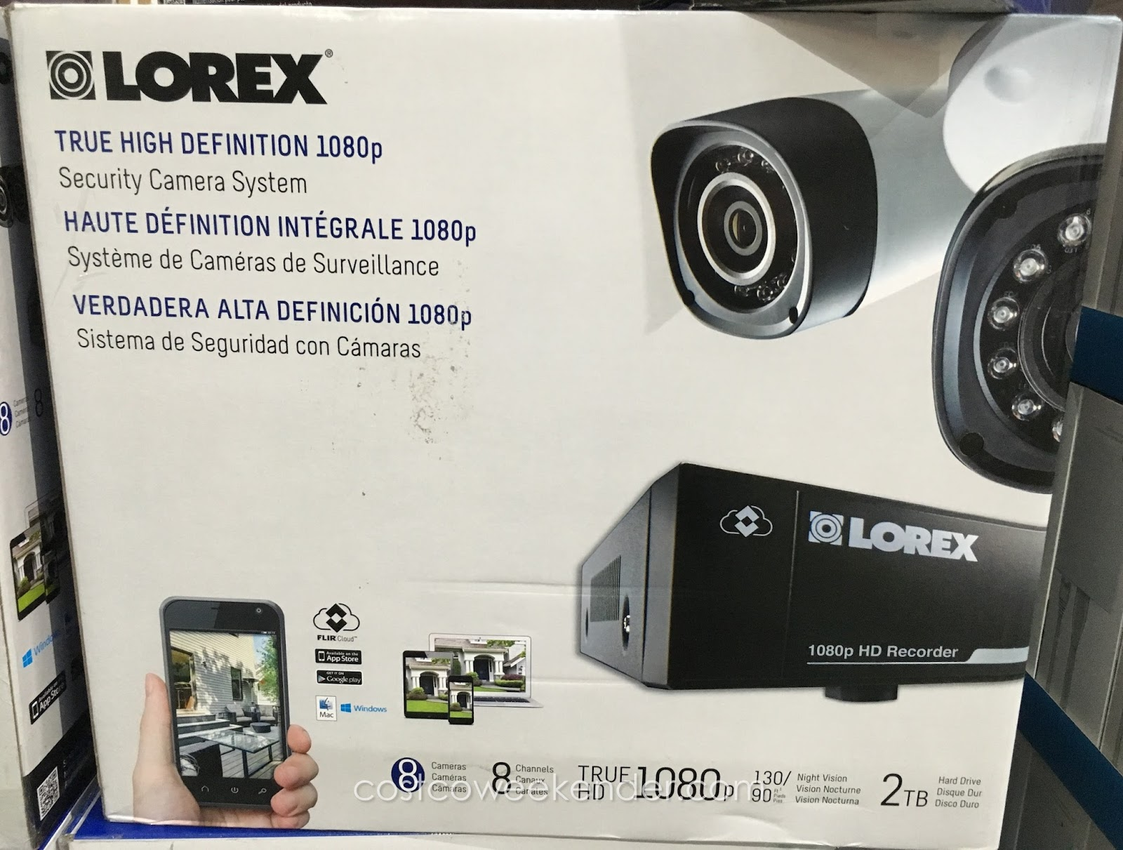 Camera Surveillance Exterieur Costco Lorex Lhv828 1080p Surveillance System Costco Weekender