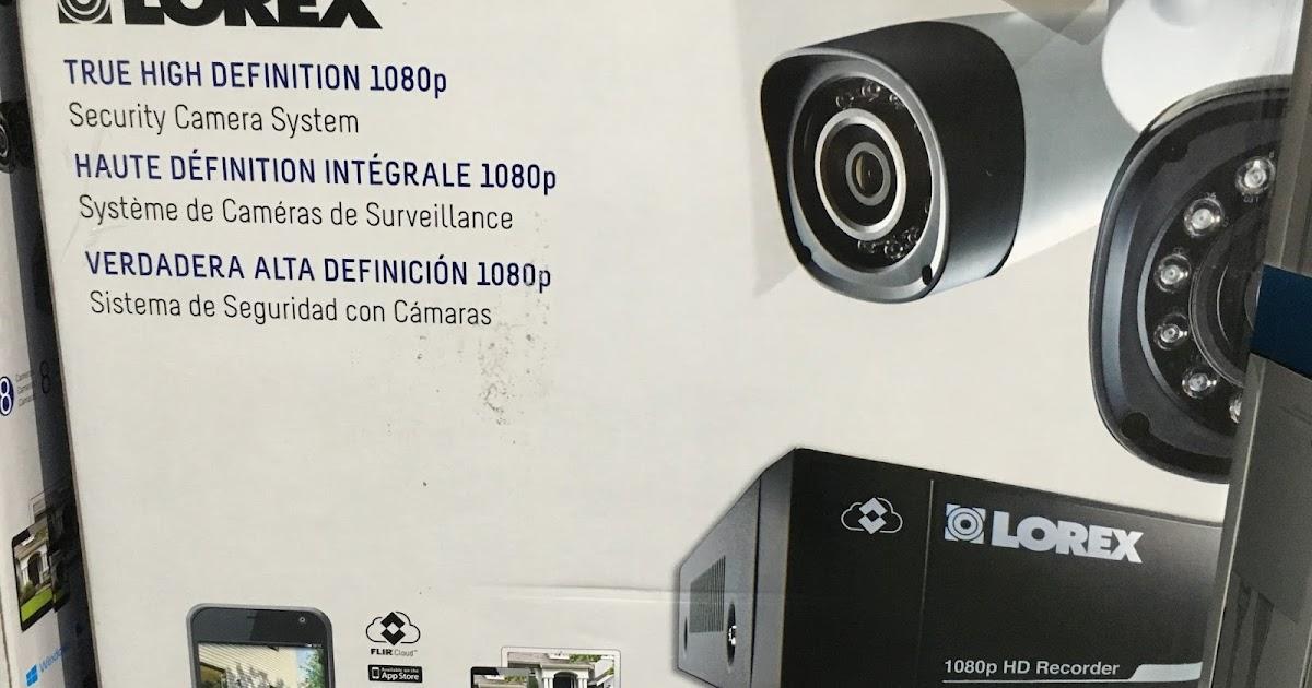 Lorex Lhv828 1080p Surveillance System Costco Weekender