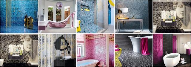 22 Attractive Bathroom Mosaic Design Ideas | Enlighten The Bath