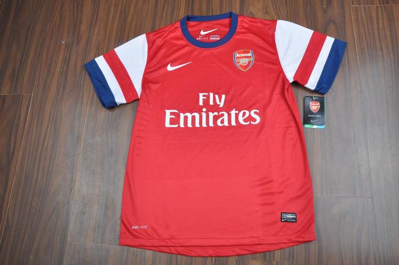 e09333493db Jual Jersey Arsenal Home 2012 2013 Player Issue (Ready Stok)
